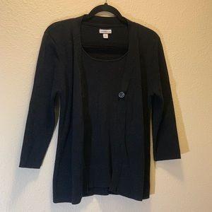 Croft & Barrow- Cardigan Sweater Set